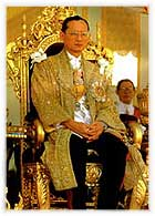 The Coronation of His Majesty the King Bhumibol Adulyadej, the current king of Thailand.